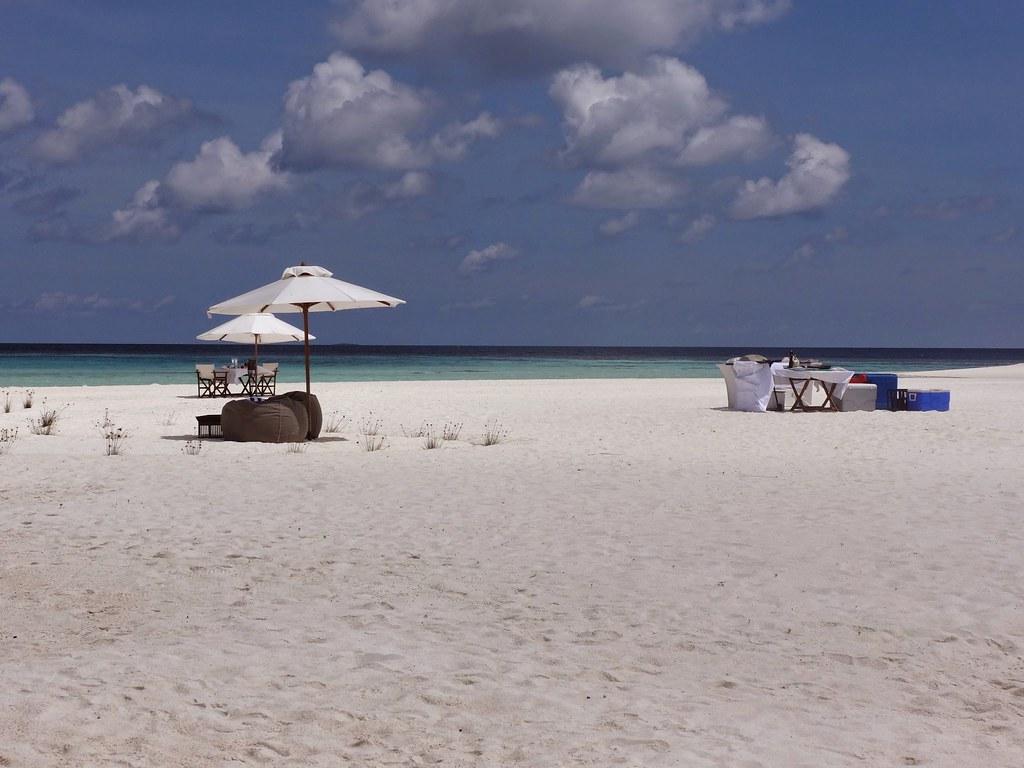 Malediwy picnic island