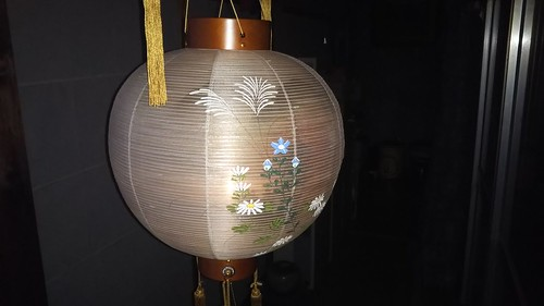 新盆 提灯