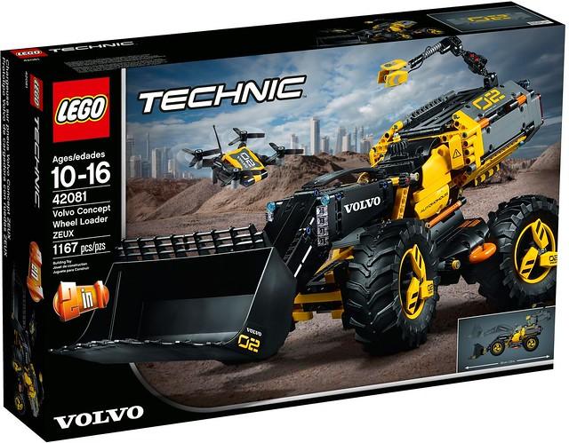 極具未來風格的無人機具!!LEGO 42081 科技系列【Volvo 概念輪式載運機 ZEUX】Volvo Concept Wheel Loader ZEUX
