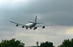 Lufthansa Airbus A340-600 D-AIHI (for new livery - first LH A340) Manc