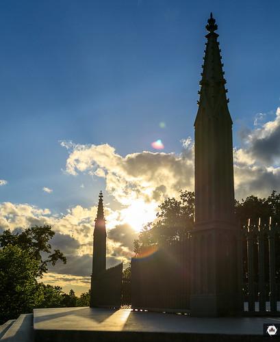 Sunset in Viktoriapark-Berlin  | #VFBLN