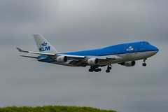KLM Royal Dutch Airlines Boeing 747-406 PH-BFG City of Guayaquil