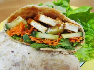 Vietnamese Tofu Wraps