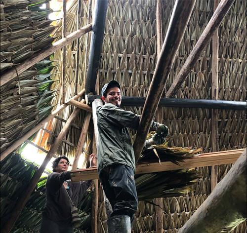 Taller de bioconstruccion- Puerto Nariño. Maloka andoke. Habitat Sur