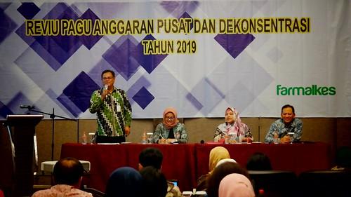 Reviu Anggaran Pusat dan Dekonsentrasi Tahun 2019