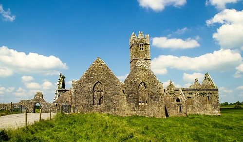 Ross Errilly Friary, Headford, County Galway, Ireland