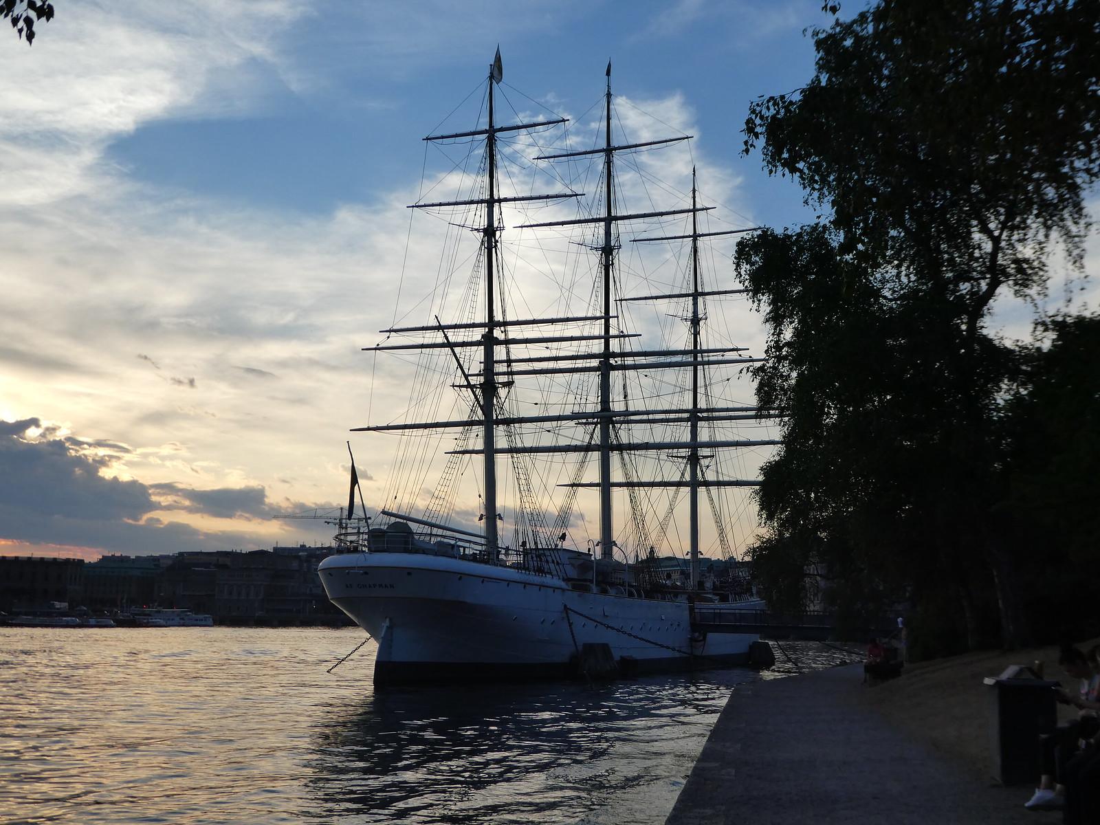 AF Chapman Rigger, Skeppsholmen Stockholm