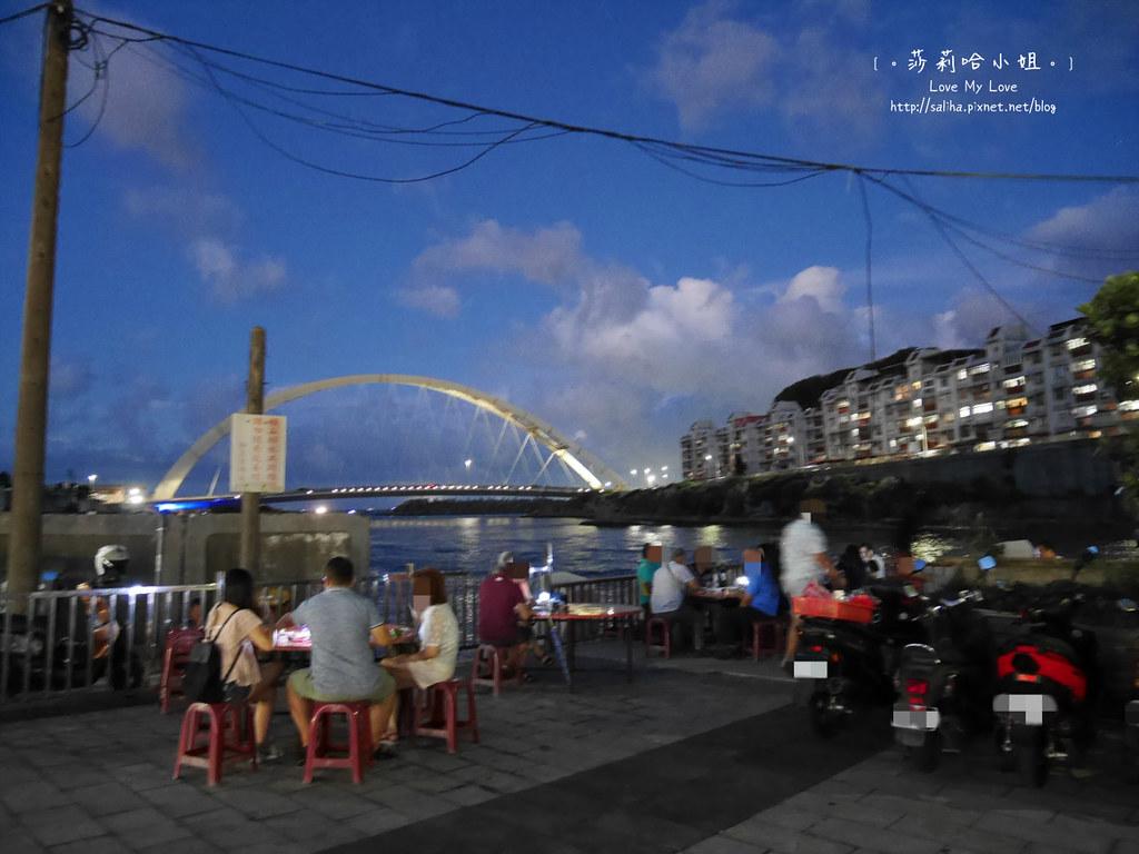 基隆吃海鮮推薦和平島漁市大街 (28)