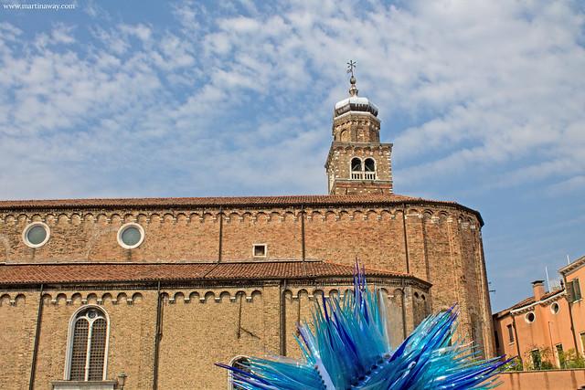 Chiesa di San Pietro Martire e Cometa di Vetro