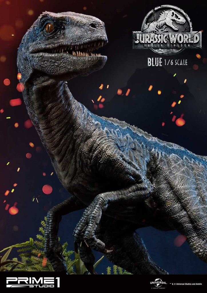 Maximum Realism! Prime 1 Studio Jurassic World: Fallen Kingdom Blue 1/6th Scale Statue