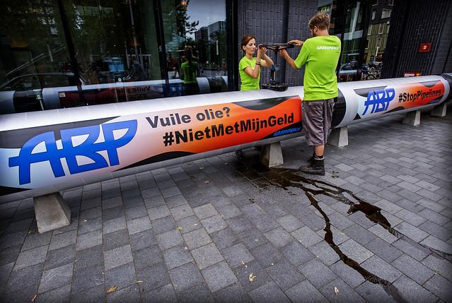 Greenpeace wil dat ABP, Nikon D5, AF-S Nikkor 17-35mm f/2.8D IF-ED