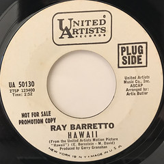 RAY BARRETTO:HAWAII(LABEL SIDE-A)