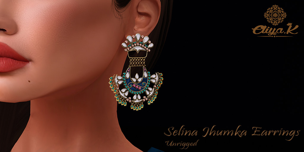 Eliya.k – Selina Jhumka Earrings