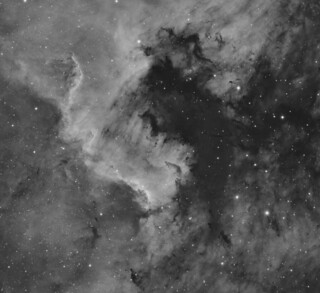 """""""The Wall"""" in NGC7000"""