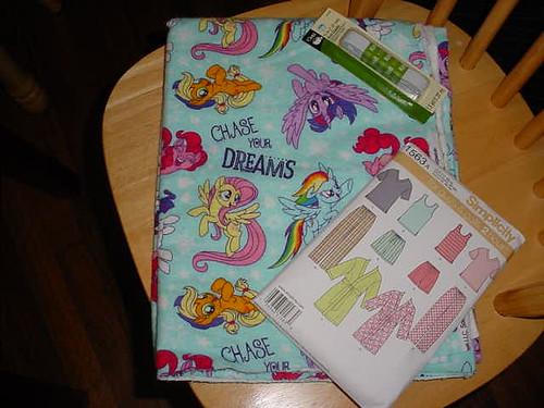 Pony pajamas!