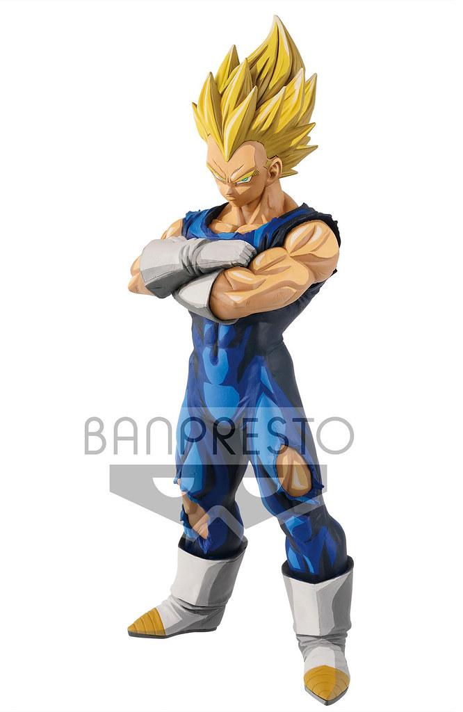 Banpresto《七龍珠Z》Grandista 超級賽亞人貝吉塔 Super Saiyan ベジータ / Vegeta -Manga Dimensions- (海外限定版)