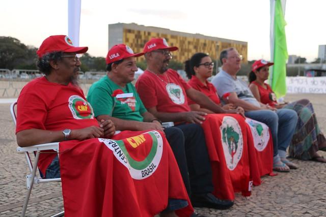 Combate à fome é destaque na pauta dos grevistas de Brasília