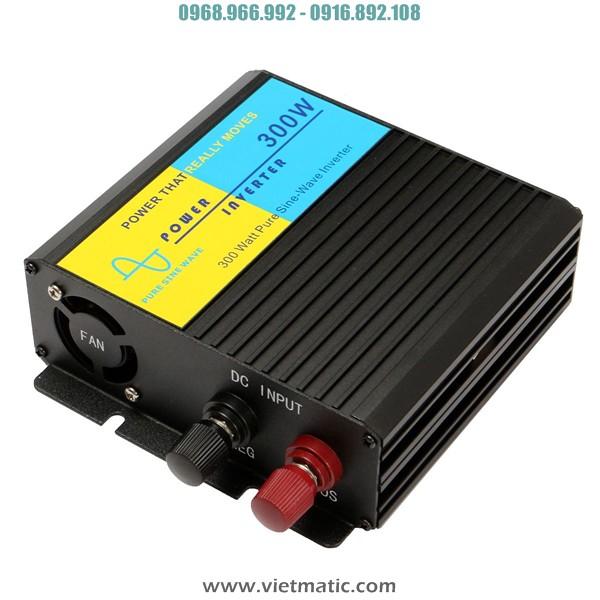 Kích điện lên 220V, 300W từ bình ắc quy