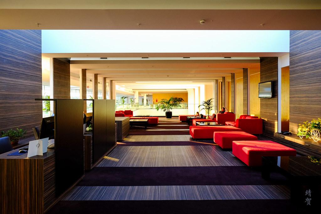 Club Lounge interior