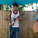 Cornish Breakfast Gig - Banjo Player