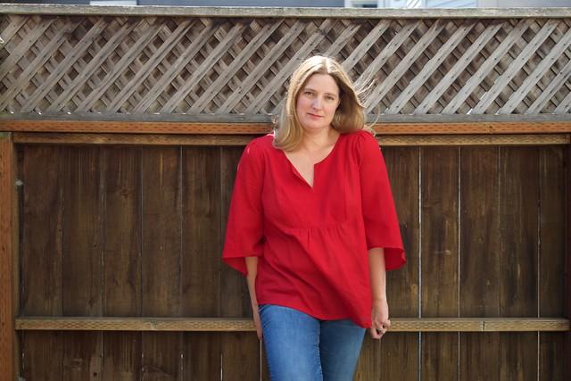 Phoenix blouse_front lounge