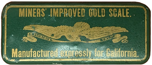 Miners' Improved Gold Scale