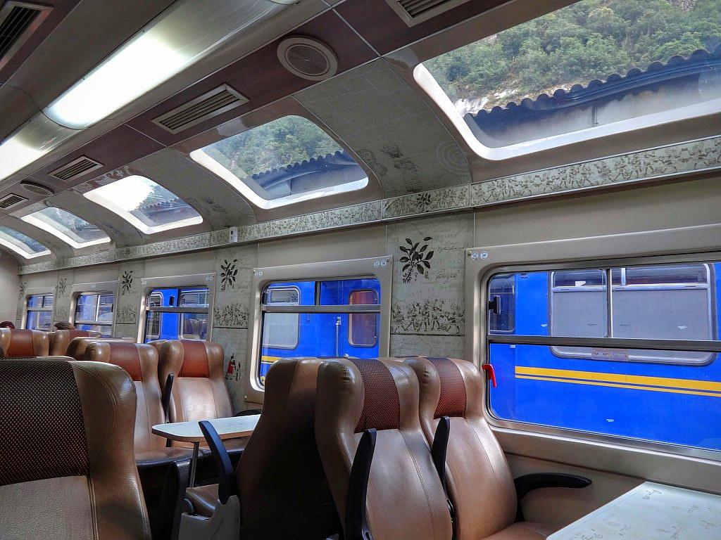 Pociąg do Machu Picchu Peru