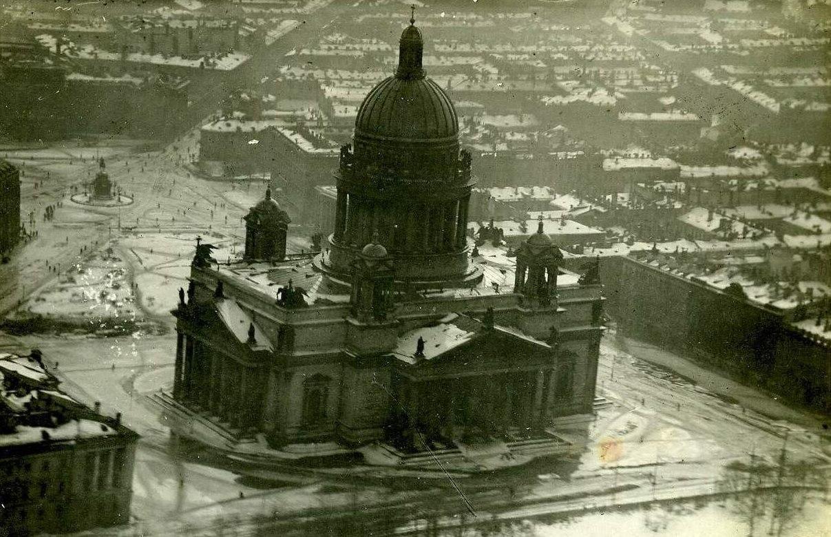 Ленинград. Наводнение 1924 года