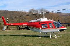 G-BYBA Agusta-Bell AB.206B-3 Jet Ranger III [8596] (R Forests Ltd) Che