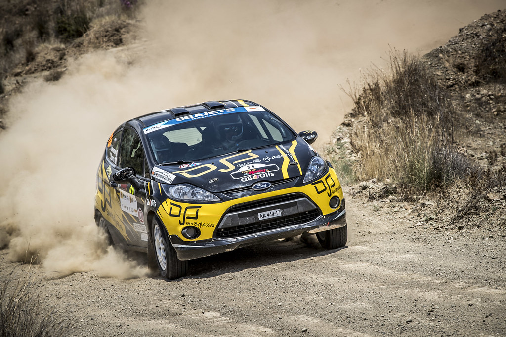 30 TELEVANTOS Constantinos (CYP), STAVROU Takis (CYP), Q8 OILS RALLY TEAM, FORD FIESTA R2, action during the 2018 European Rally Championship ERC Cyprus Rally,  from june 15 to 17  at Larnaca, Cyprus - Photo Gregory Lenormand / DPPI