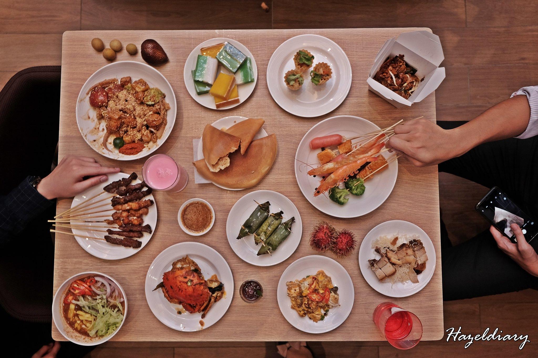 Penang Food Fare Buffet-Sky22 Courtyard Marriott-Hazeldiary