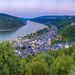Bacharach am Rhein - Heinrich-Heine-Blick by Michael P....