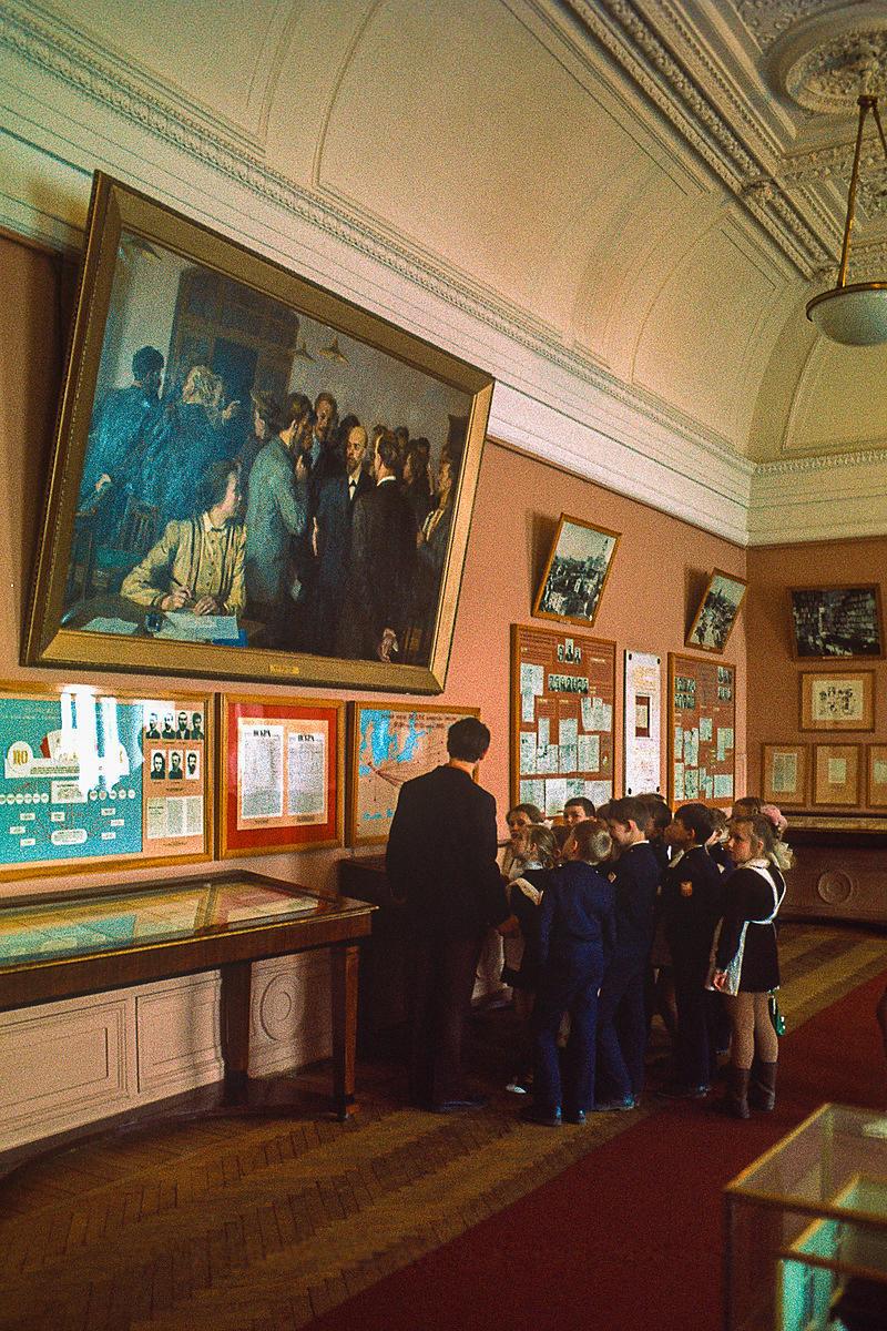 В музее Ленина