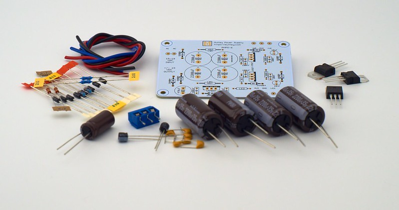 Muffsy Phono Preamp - Kit from muffsy on Tindie