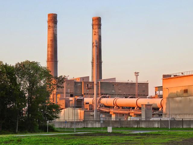 Kunda tsemenditehas / Kunda Cement Plant, Estonia