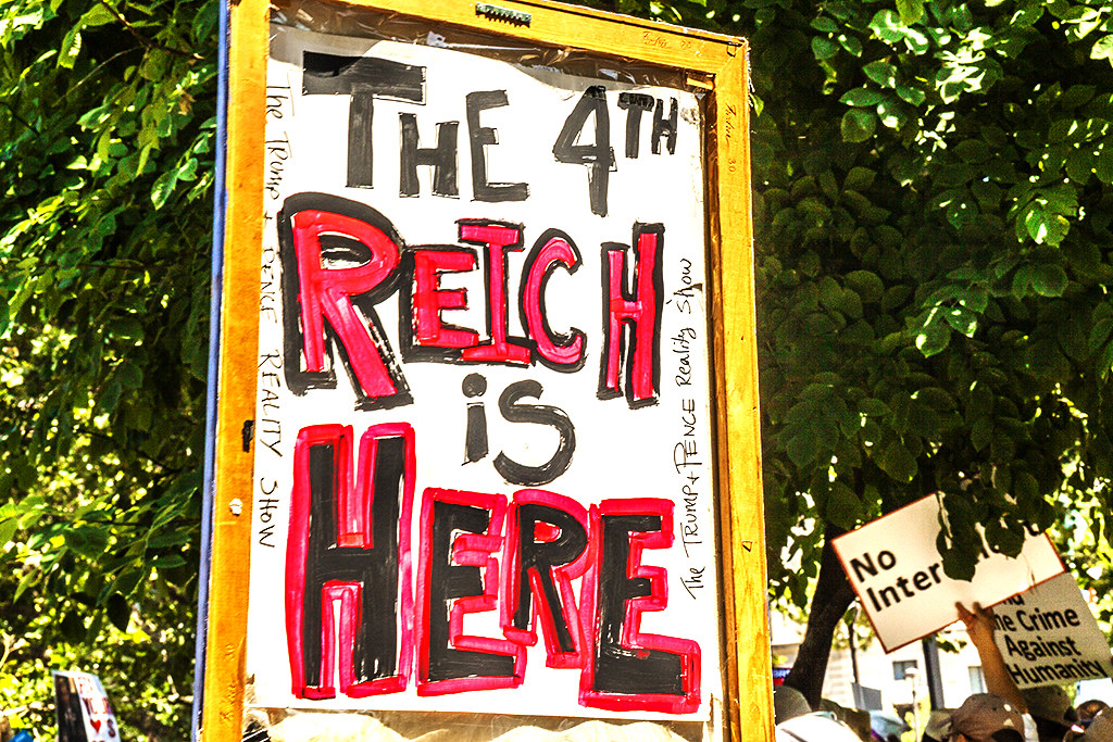 THE 4TH REICH IS HERE--Logan Circle