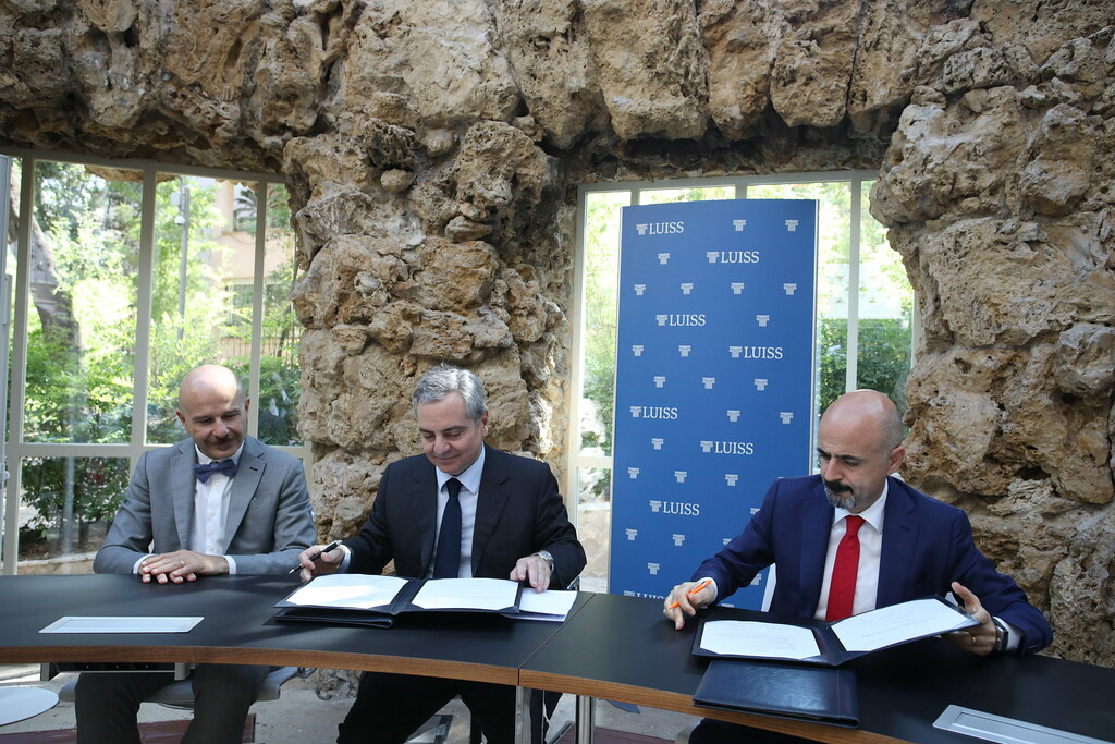 Firma accordo LUISS e BEI