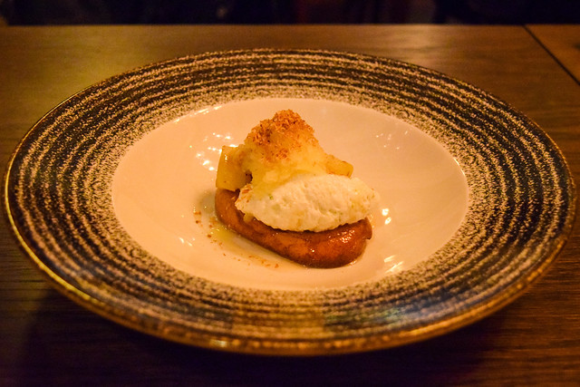 Vegan Rum Baba at The Parade Room at The Pound, Canterbury #vegan #rum #rumbaba #canterbury