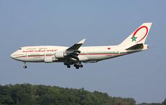Royal Air Maroc Boeing 747-428 CN-RGA / BRU
