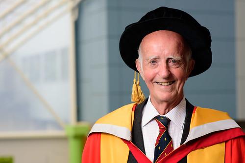 Honorary Graduate Summer 2018 - Graham Pearson