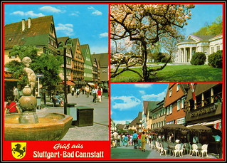 Bad Cannstatt, Stuttgart, Germany 6651 R Stuttgart - Bad Cannstatt 30.IV.1988. Za Aliku Šajt a