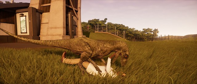 Jurassic World Evolution - Raptor Attack