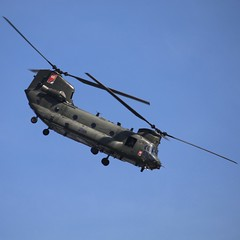 Chinook display Cosford Airshow 2018