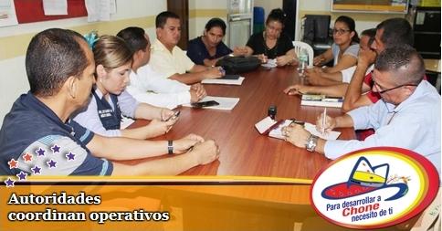 Autoridades coordinan operativos