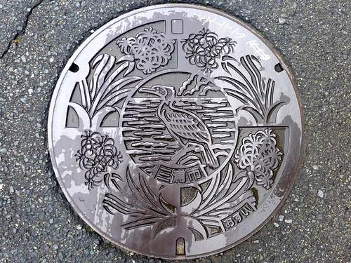 Miura Kanagawa, manhole cover (神奈川県三浦市のマンホール)