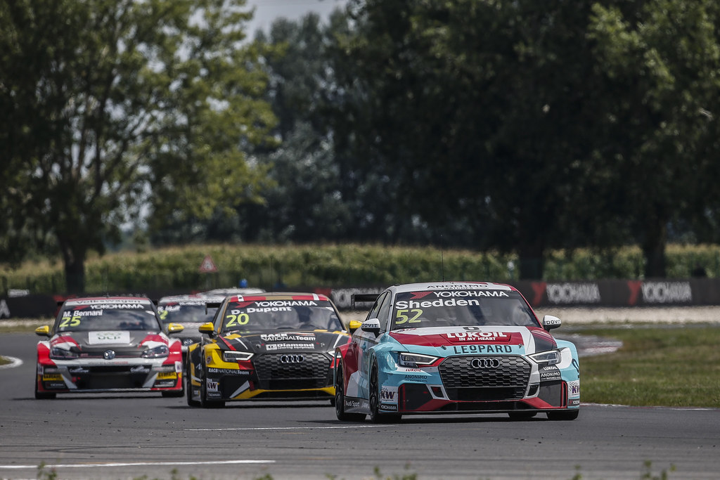 52 SHEDDEN Gordon, (gbr), Audi RS3 LMS TCR team Audi Sport Leopard Lukoil, action during the 2018 FIA WTCR World Touring Car cup race of Slovakia at Slovakia Ring, from july 13 to 15 - Photo Jean Michel Le Meur / DPPI