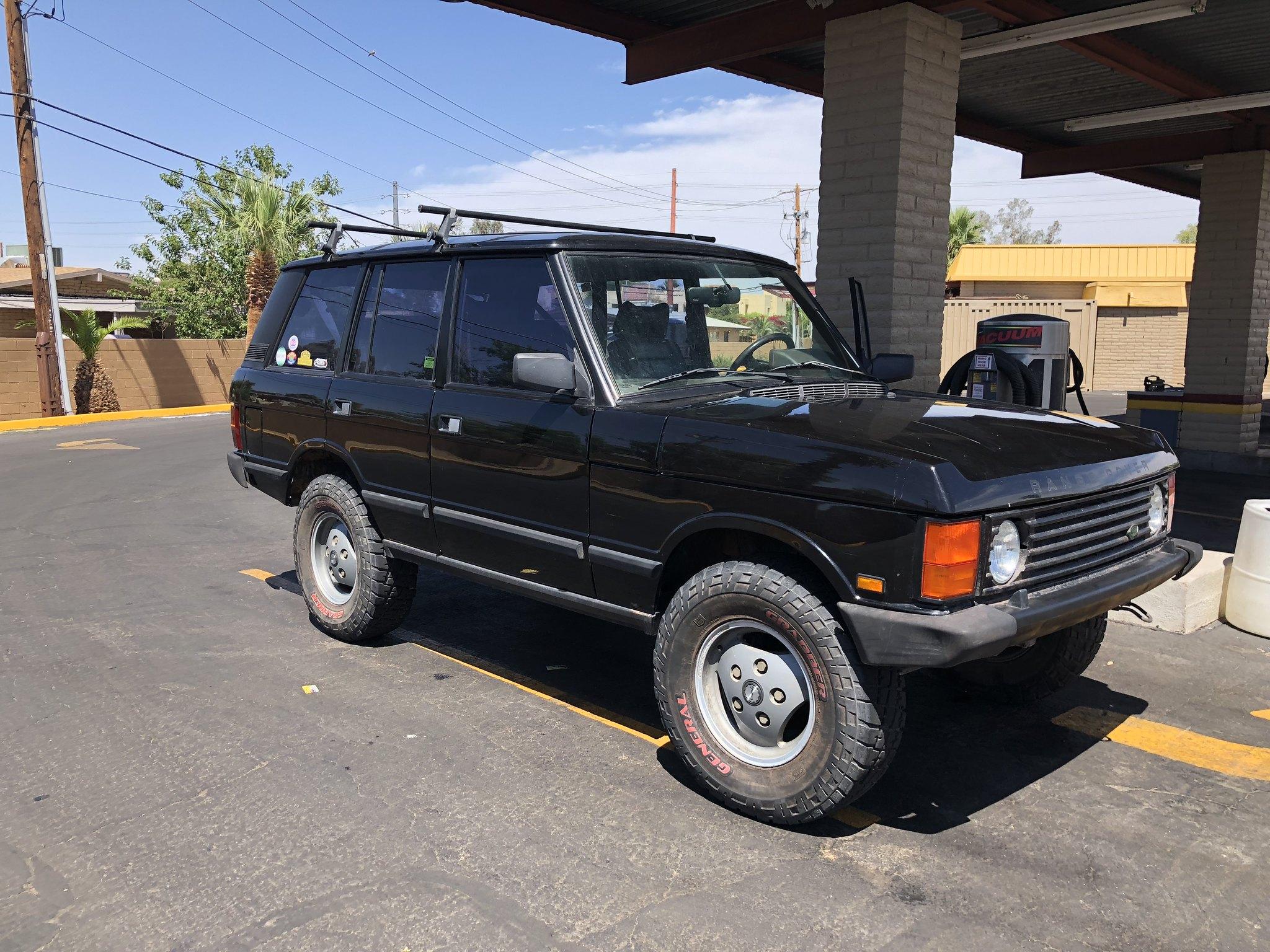 1990 Range Rover Classic Build
