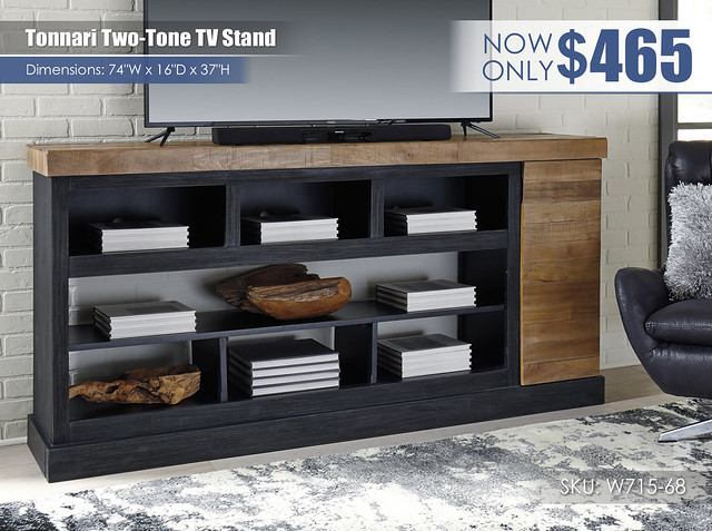 Tonnari Two Tone TV Stand_W715-68