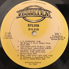 SYLVIA:SYLVIA(LABEL SIDE-A)