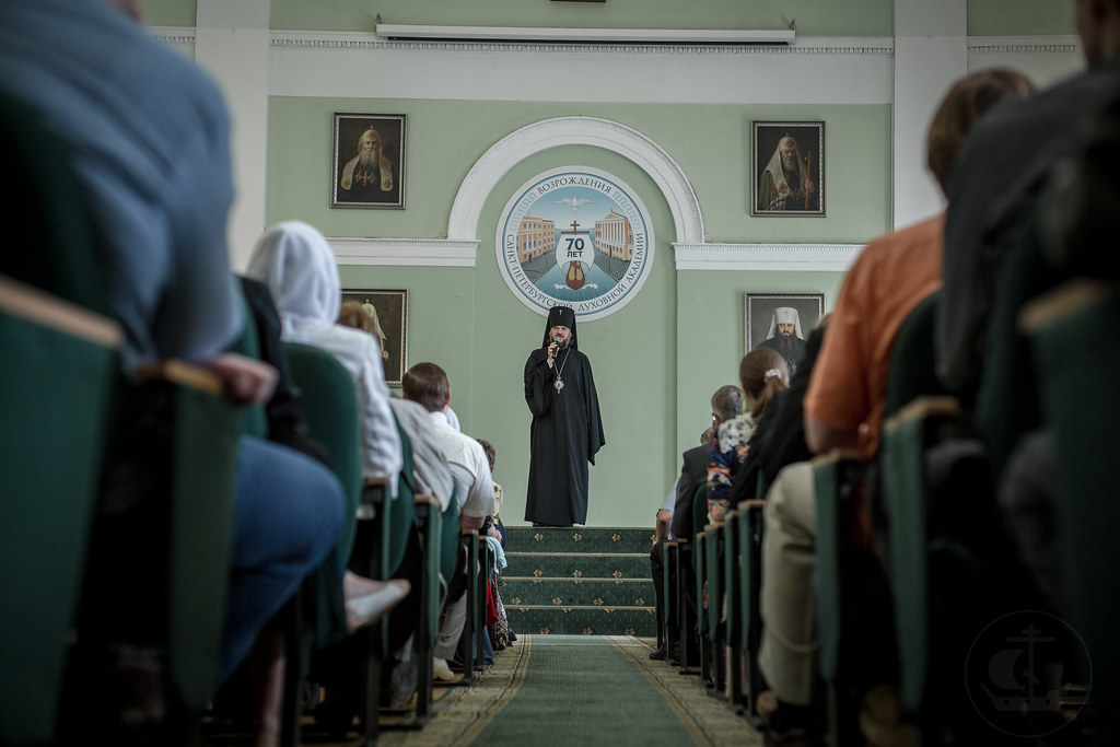 17 июня 2018, Выпуск слушателей Епархиальных курсов / 17 June 2018, The graduation of the diocesan courses